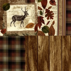 Cabin Fever Cotton Fabric