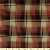 Cabin Fever Flannel Fabric Plaid