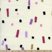 Cachet Confetti Cotton Fabric - Pink