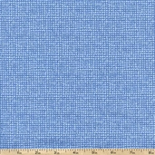 Cachet Mesh Texture Cotton Fabric - Blue