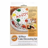 Cake Decorating Set 18 piece