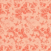 Calico Fabric Basics - Orange - CLEARANCE