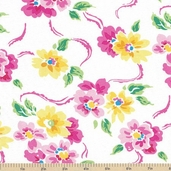 Calypso Floral Cotton Fabric