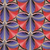 Camden Cafe Metallics Cotton Fabric - Multi