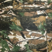 Camouflage Fleece Print from Golden D'or Fabric 58/60 inch