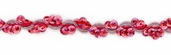 Cancun Cup Sequin Braid Trim - Pink - 36yds