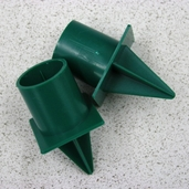 Candle Cups - Green - 12 Pkgs