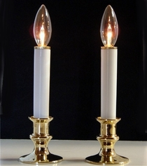 Candle Lamp Battery Operated -2 Lamps
