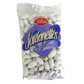 Candy Coated Jordan Almonds 14 oz - White