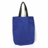 Canvas Tote Bag in Blue