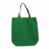 Canvas Tote Bag in Forest Green