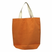 Canvas Tote Bag in Orange