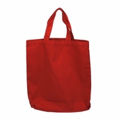 Canvas Tote Bag in Red
