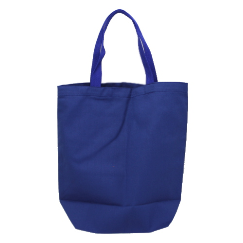 Canvas Tote Bag in Royal Blue