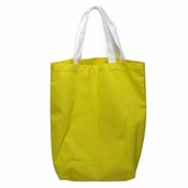 Canvas Tote Bag in Yellow