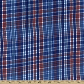 Cape Cod Seersucker Cotton Fabric - Americana CUD-13066-202