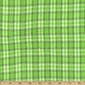 Cape Cod Seersucker Cotton Fabric - Lime CUD-13067-50