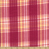 Cape Cod Seersucker Cotton Fabric - Pink CUD-13066-10