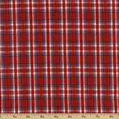 Cape Cod Seersucker Cotton Fabric - Red CUD-13067-3