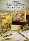 Card Maker's Hand-Lettering Workbook by Nancy Burke and Marian Rodenhizer