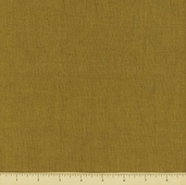Carolina Chambray Cotton Fabric - Gold