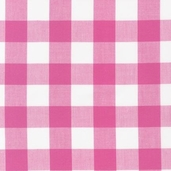 Carolina Gingham 1in. - Fuchsia
