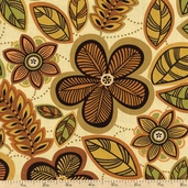 Casablanca Tangier Cotton Fabric - Sand 01193-77
