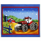 Case IH Kid's 36 inch Cotton Fabric Panel