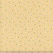 Cats Amore Polka Dot Cotton Fabric - Beige