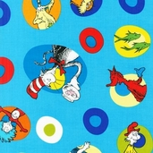 Celebrate Seuss! Cotton Fabrics - Celebration