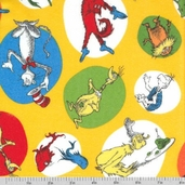 Celebrate Seuss Flannel - Sunshine Characters