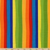 Celebrate Seuss! Stripe Cotton Fabric - Celebration ADE-10792-203 CELEBRATION