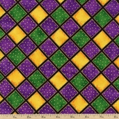 Celebrations Diamonds Cotton Fabric - Amethyst ESKM-5744-20 AMETHYST