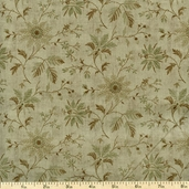 Centenary Cotton Fabric - Sage 30358-61