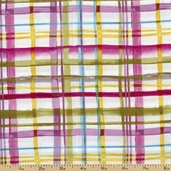 Charleston Plaid Cotton Fabric - Multi 112-22061 - Sale
