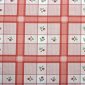 Charlevoix Cotton Fabric - Cherry - Clearance