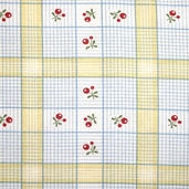 Charlevoix Cotton Fabric - Sunshine Checks