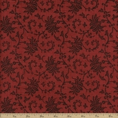 Chateau Rouge Cotton Fabric - Faded Red 13622-11