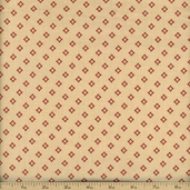 Chateau Rouge Cotton Fabric - Pearl 13629-19