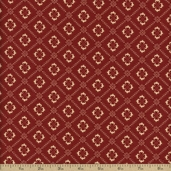 Chateau Rouge Cotton Fabric - Roche 13625-12