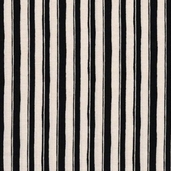Chefs International Cotton Fabric - Ivory Stripe