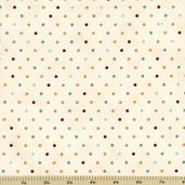 Cherish Nature Cotton Fabric - Cream 19397-13