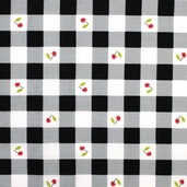 Cherry Fizz Gingham - Black