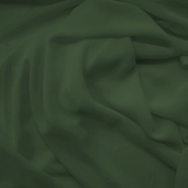 Chiffon Wedding Fabric - Hunter Green
