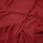 Chiffon Wedding Fabric - Red