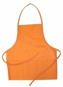 Child's Apron -Tangerine