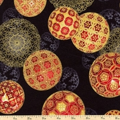 Christmas in Kyoto Cotton Fabric - Holiday ETJM-12586-223 HOLIDAY