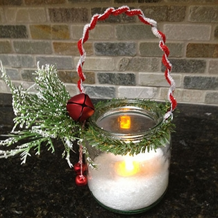 Christmas Tea Light Holder