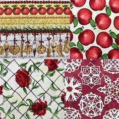 Christmas Traditions Fabric
