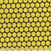 Citron Gray Huevos Cotton Fabric - Gray CX3755-D